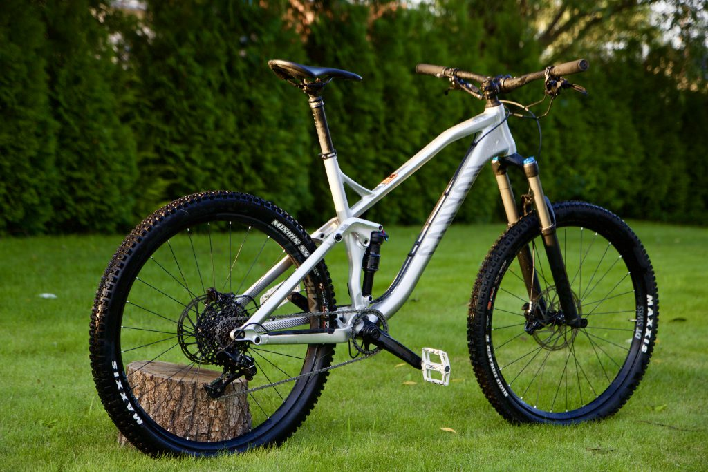 Canyon SPECTRAL AL 5.0 EX recenzja review